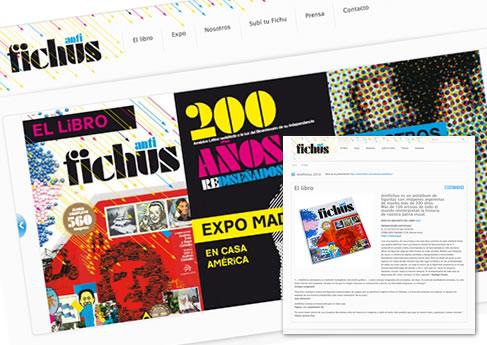 Antifichus. Soledad Arismendi - Web designer - Diseñadora web