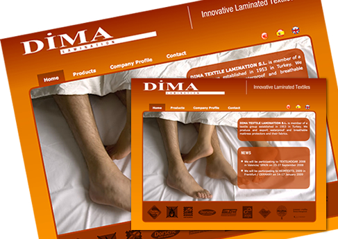 Dima Lamination - Soledad Arismendi - Web designer - Diseñadora web