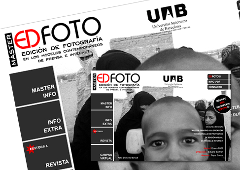 Máster EDFOTO - Soledad Arismendi - Web designer - Diseñadora web