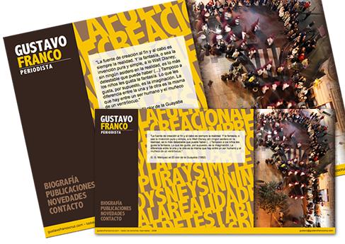 Gustavo Franco - Soledad Arismendi - Web designer - Diseñadora web