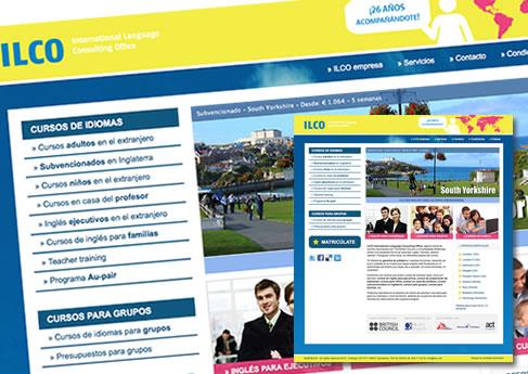 ILCO Idiomas - Soledad Arismendi - Web designer - Diseñadora web