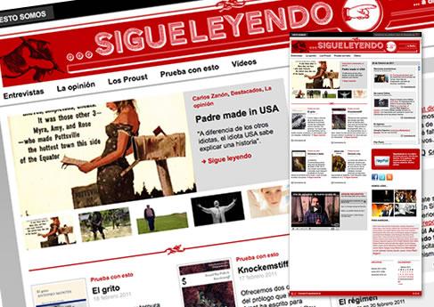 Sigueleyendo. Soledad Arismendi - Web designer - Diseñadora web