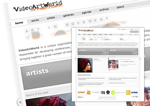 VideoArtWorld - Soledad Arismendi - Web designer - Diseñadora web