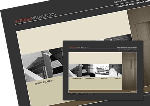 Vypinsa Proyectos  - Soledad Arismendi - Web designer - Diseñadora web
